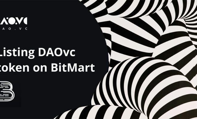 Токен DAOvc доступен для торгов на американской бирже криптовалют BitMart_61685e27bc0cc.jpeg